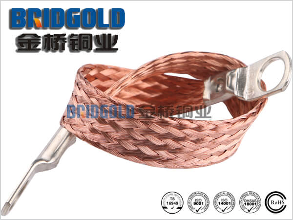 Copper Braided Connectors with Lugs