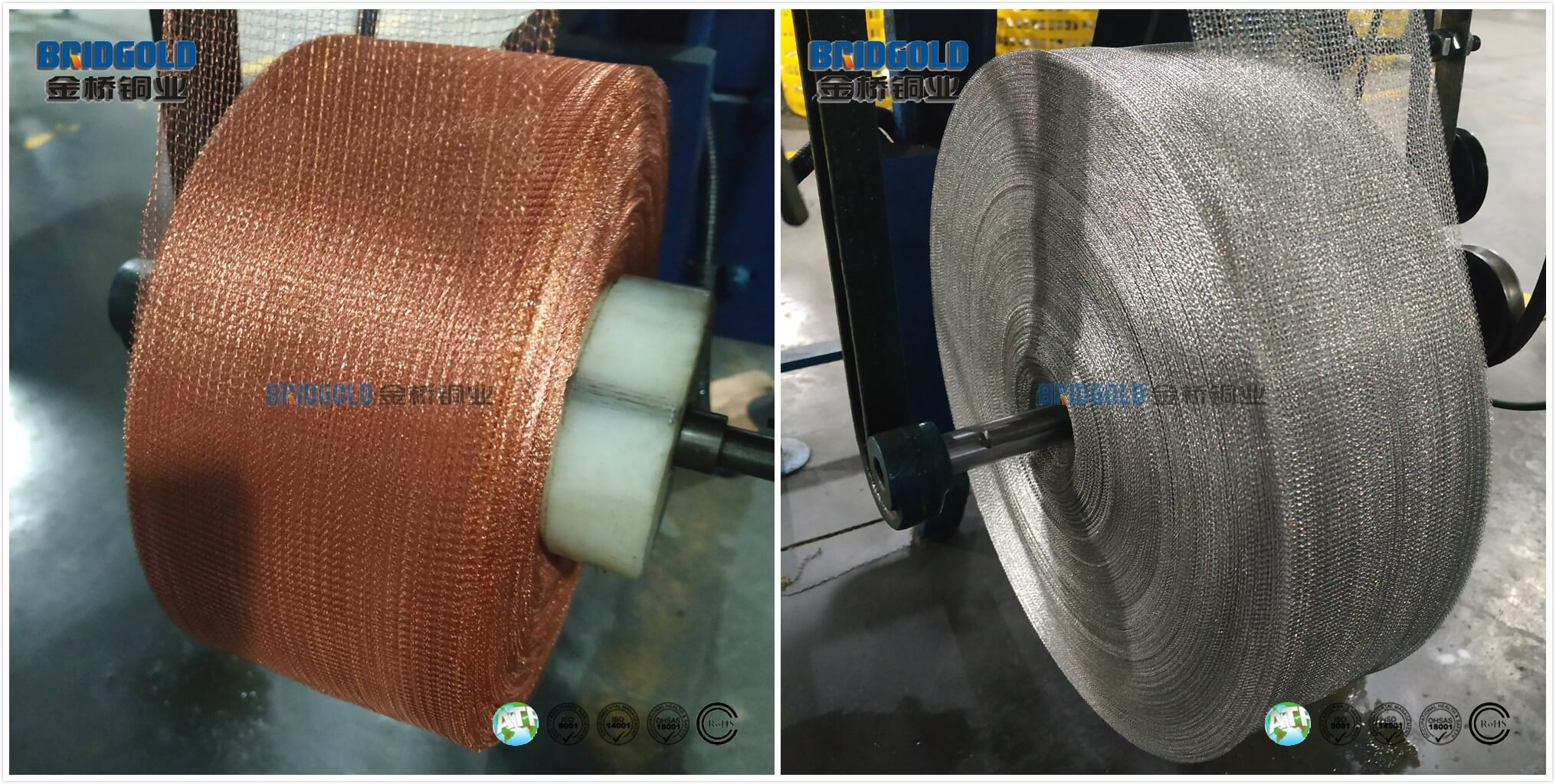 High Flexibility Product Performance of Woven Knitted Copper Mesh (1)